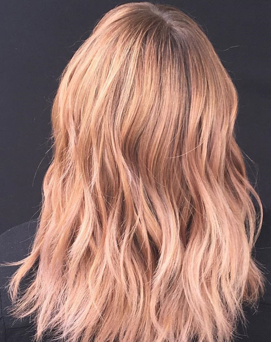 Strawberry Blonde Sombre