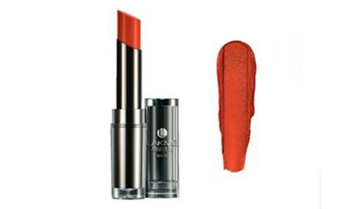 Lakme Absolute Sculpt Studio Hi-Definition Matte Lipstick Shades - Tangerine Lush