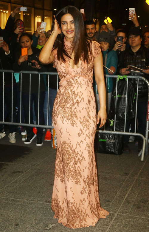 The-Damsel-In-Peach-Brown-Gown