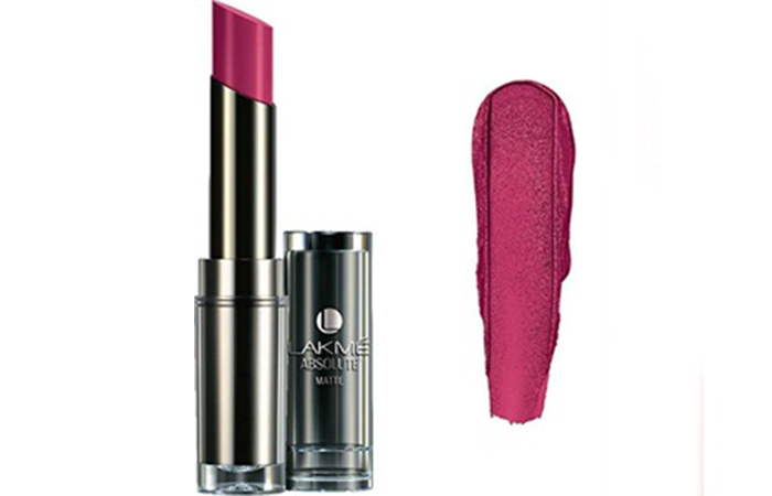 Lakme Absolute Sculpt Studio Hi-Definition Matte Lipstick Shades - Wild Berry
