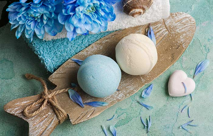 1. Bath Bombs