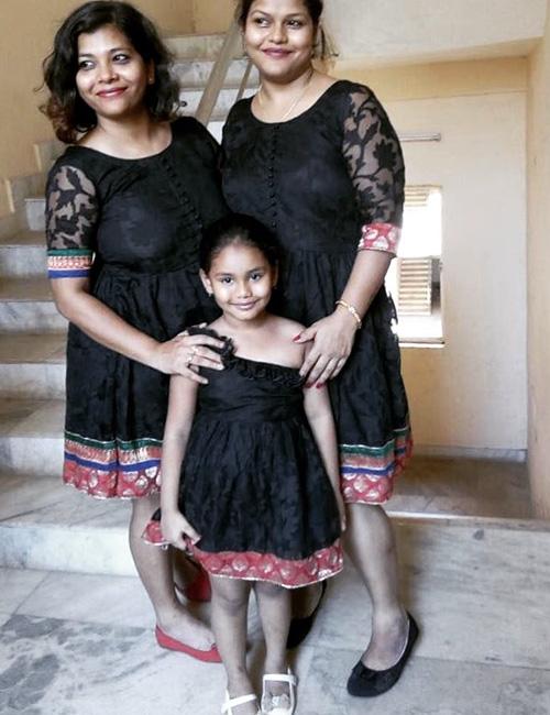 11. Çocuğunuzla Eşleşen Elbise