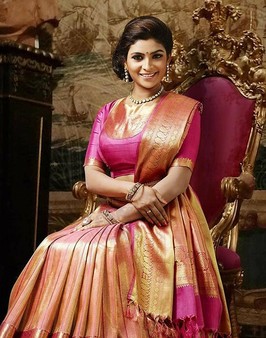 50 Latest Silk Saree Blouse Designs Catalogue 2019