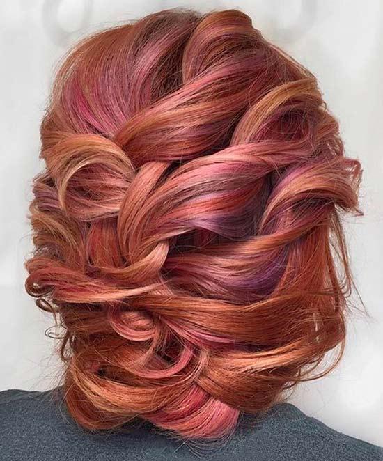 12. Multicolor Auburn Sorbet