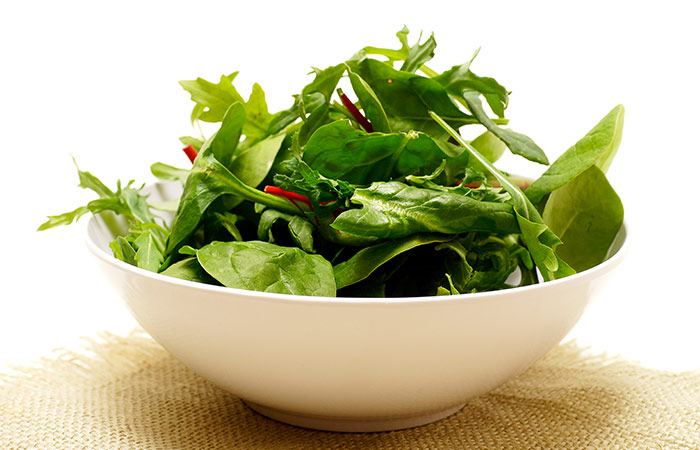 2. Spinach (Aphro)
