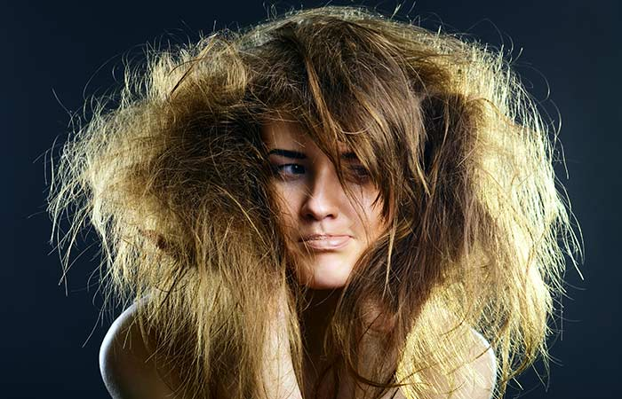 3. If your hair is dull and lifeless