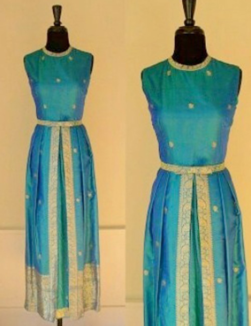 Or Maybe A Kurta Made From An Old Saree