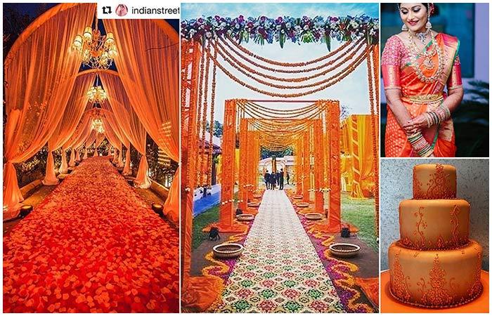 3. Orange Color Combination