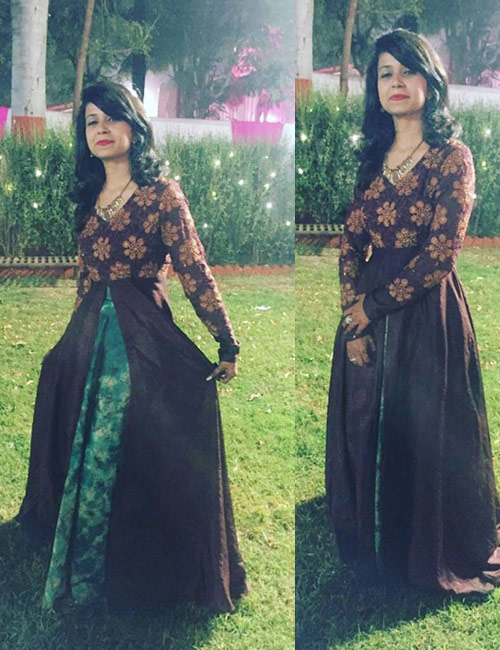 5. A Summer Maxi Dress With Old Cotton Or Pattu Sarees