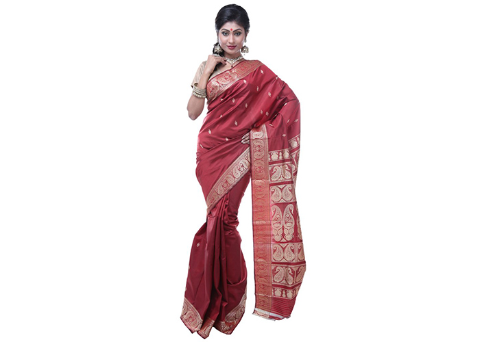 5. Baluchari Silk