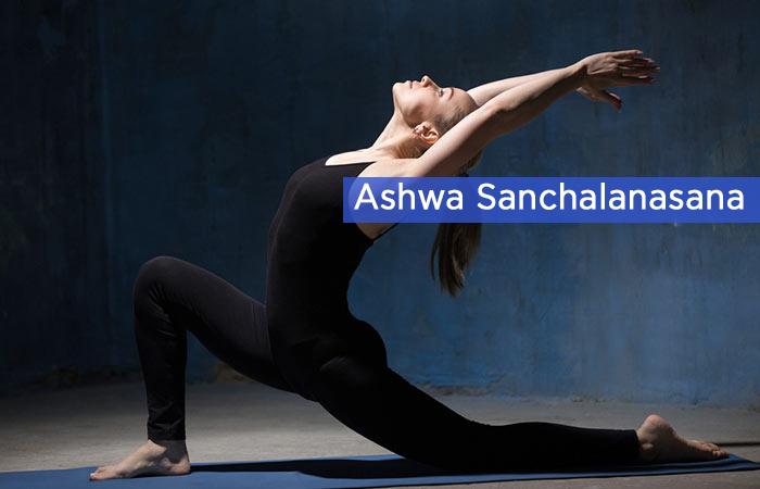 Ashwa-Sanchalanasana