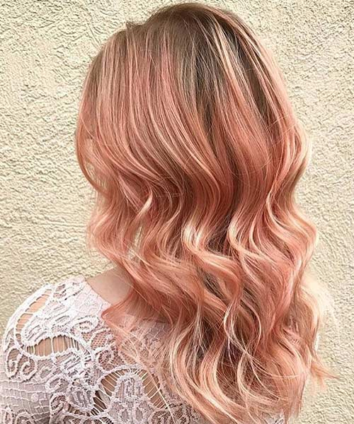 Rose Gold Hair Inspiration For Your Summer 50 Ideas