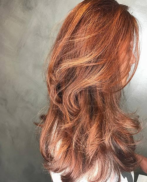 Copper And Rose Gold Root Melt