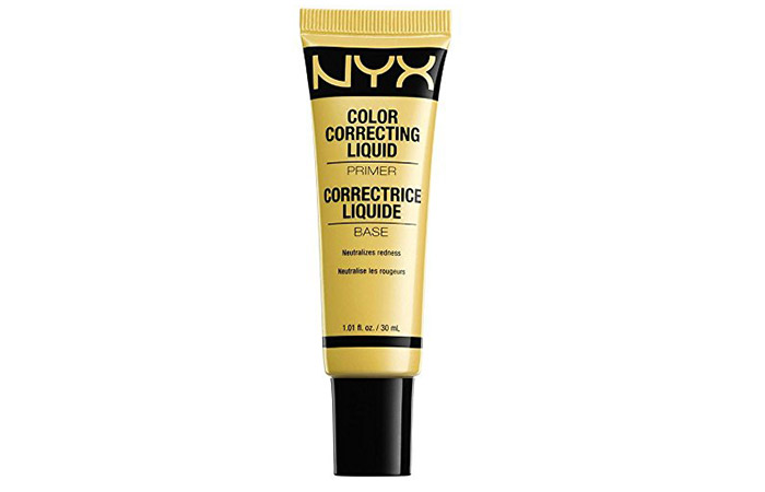 NYX Color Correcting Liquid Primer - Best Drugstore Face Primer