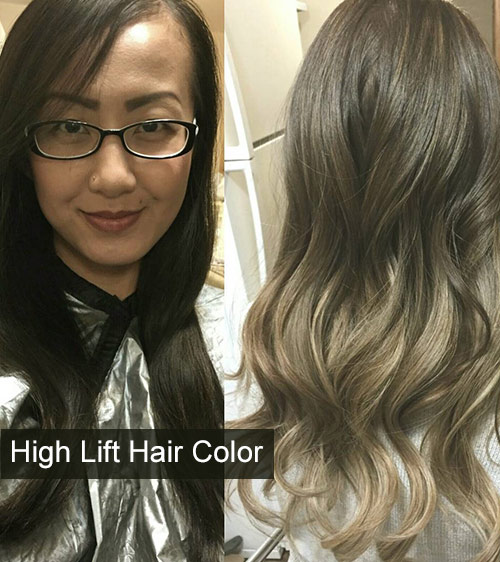 How Does High Lift Hair Color Work