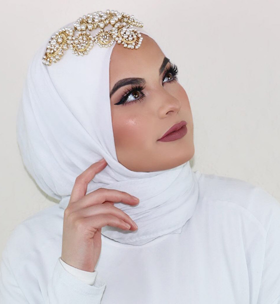 Hijab Style For A Wedding Bride