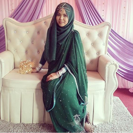 Hijab Style For Saree