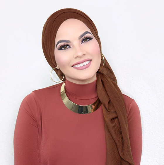 Hijab To Show Earrings1