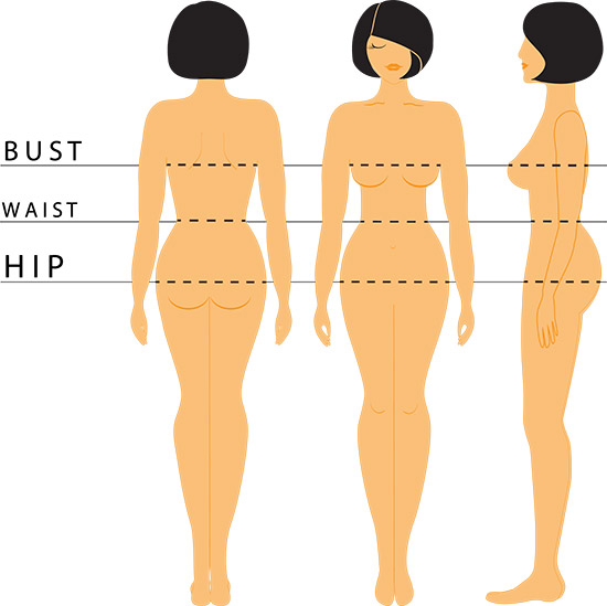 How To Determine Your Body Shape - With Measurements