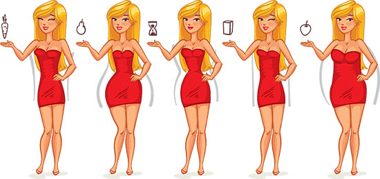 How To Determine Your Body Type And Dress Accordingly - The Body Shape Guide