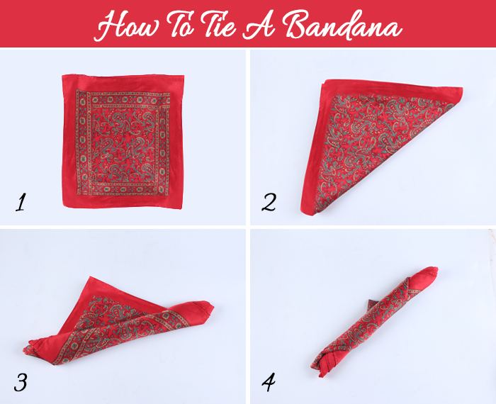 How To Wear A Bandana - How To Tie A Bandana