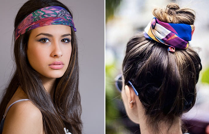 how to style hair with a bandana bandana ponytail hairstyle hairstyles by unixcode 7071