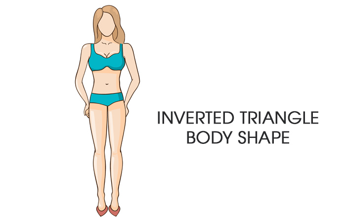 How To Dress For Your Body Type Inverted Triangle Shape Pinit