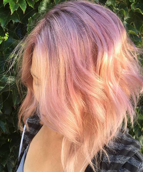 Rose Gold Unicorn