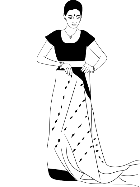 how to wear a saree in bengali style step by step tutorial