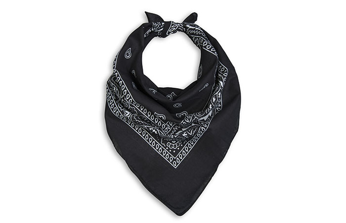 How To Wear A Bandana - Triangular Choker Bandana