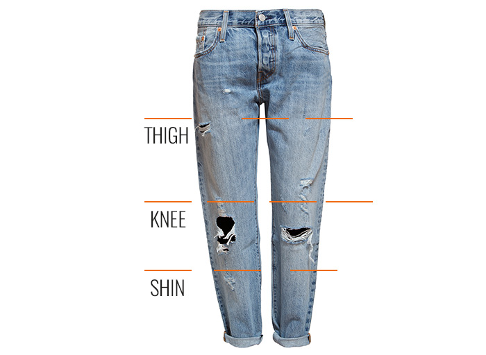 How To Make A Ripped Jeans - Where And How To Manage A Ripped Jeans
