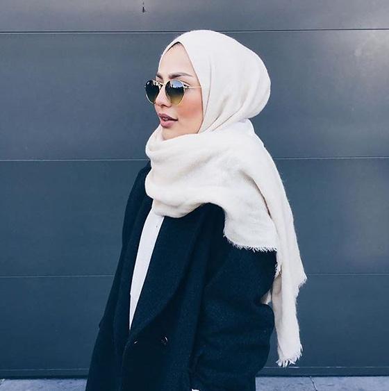 Winter Hijab Style1