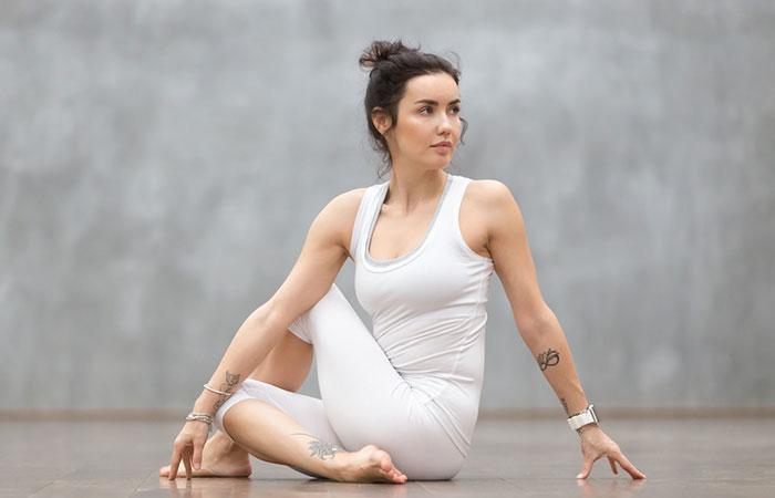 1. Ardha Matsyendrasana