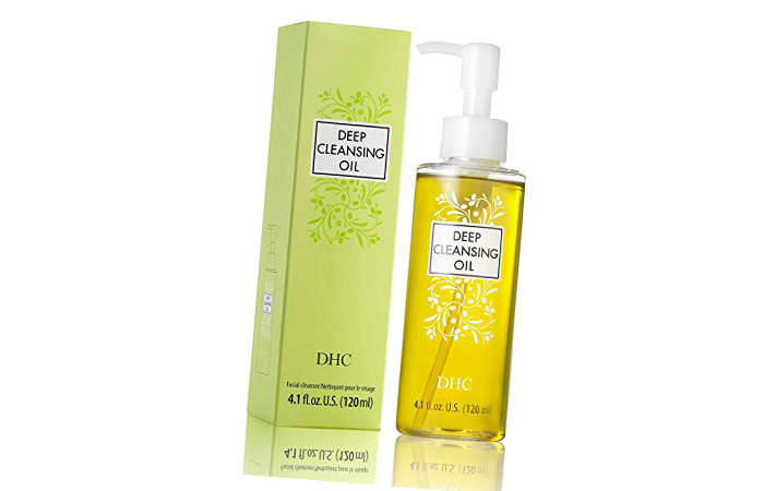 1. DHC Deep Cleansing Oil - Best Japanese Beauty Product