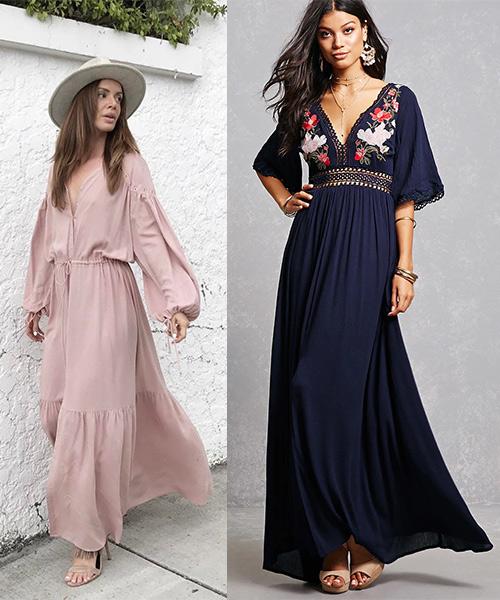 1. Long Maxi Dresses