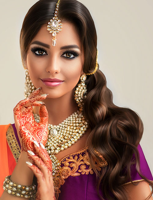 20 Divine Hairstyles To Complement Your Saree
