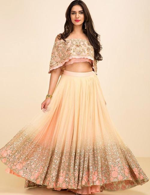 11. Off Shoulder Lehenga