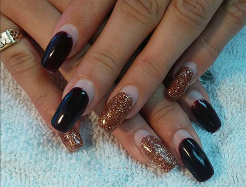 Crescent Moon Vampy Nails Acrylic Pinit
