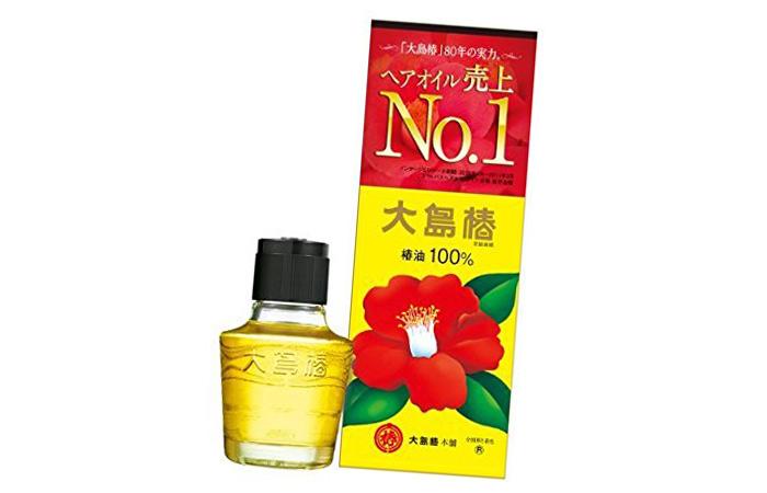 13. Oshima Tsubaki Oil - Best Japanese Beauty Products
