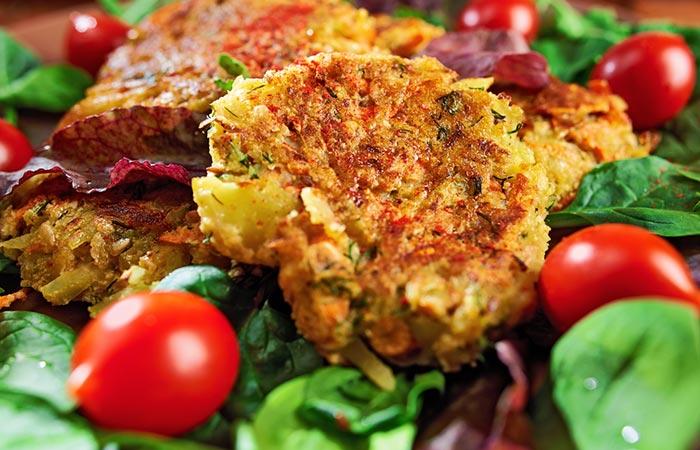 Paleo Diet Recipes - Burger Patty Salad