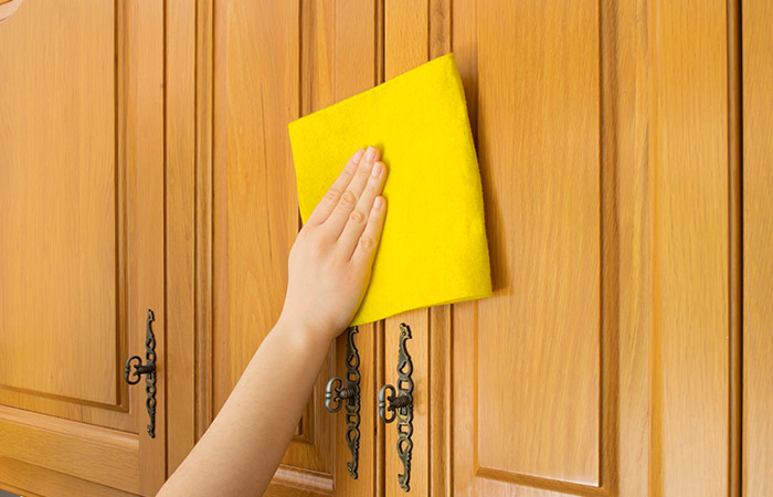3. Cleaning Cupboards