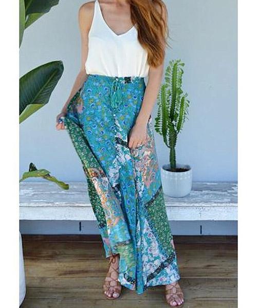 4. Maxi Skirts