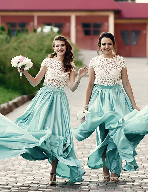 5. Here Are Your Options For Bridesmaids' Dresses