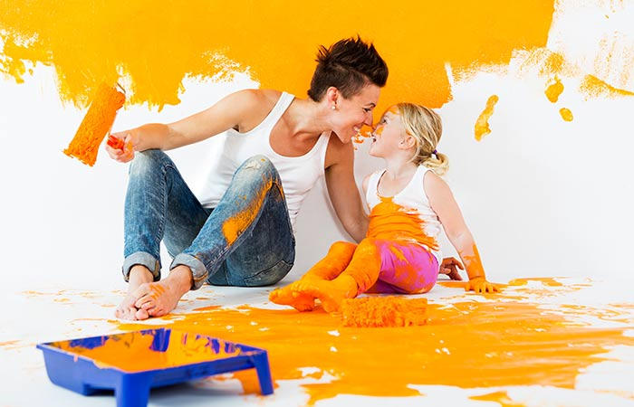 5. Painting The Walls