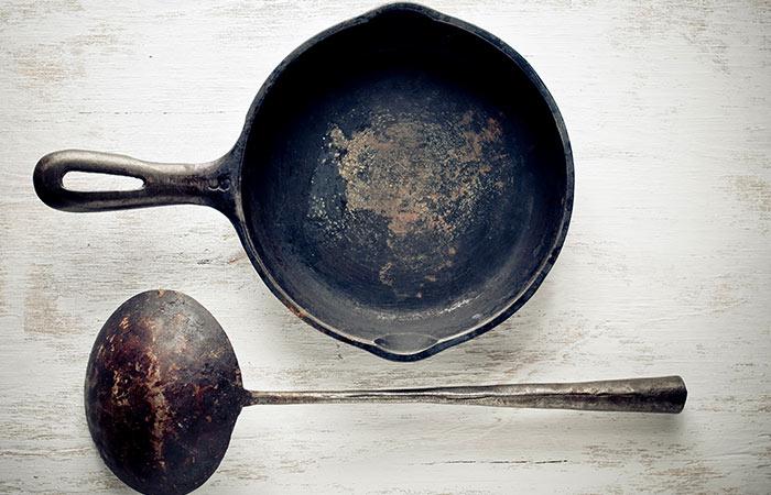 6. Cleaning Cast Iron Utensils