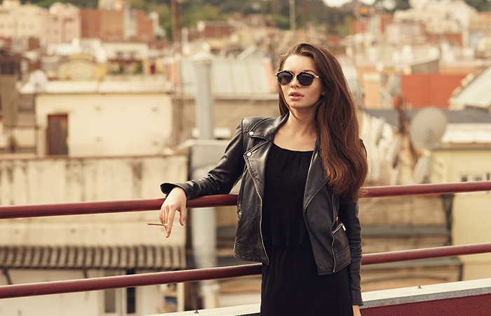 6. No Matter What Weather Have A Jacket Made Of Leather