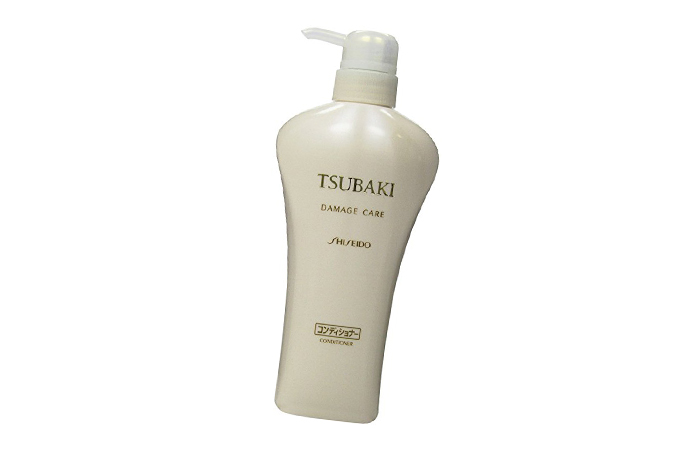6. Shiseido Tsubaki Damage Care Hair Conditioner - Best Japanese Beauty Products