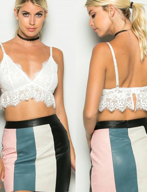 6. With A High Waisted Skirt