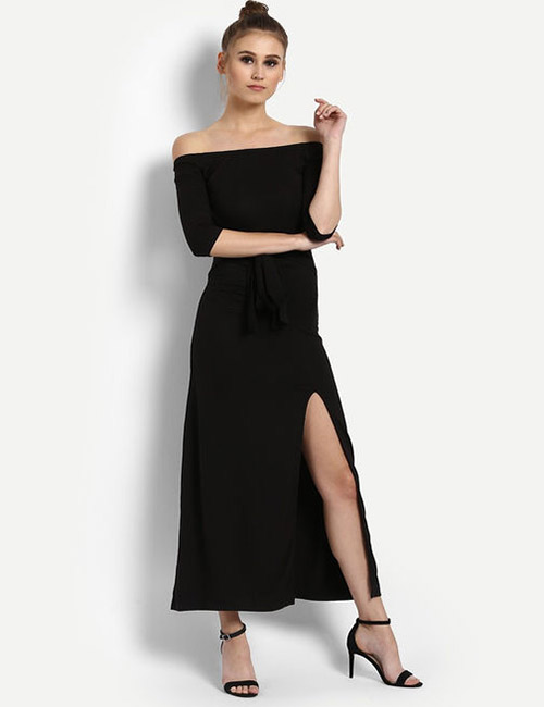 7. Off Shoulder Maxi Dress