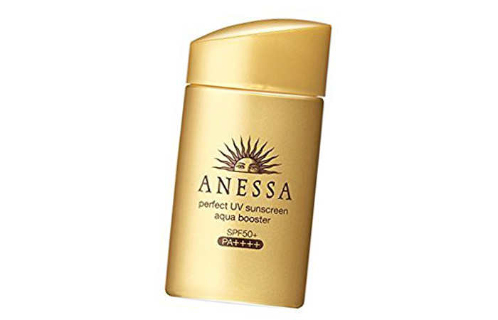 7. Shiseido Anessa Perfect Sunscreen SPF 50+ - Best Japanese Beauty Products